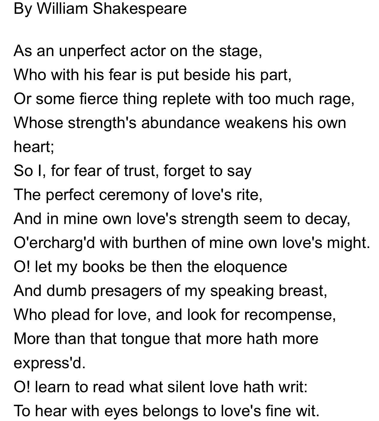 Shakespeare Sonnet Sonnets Meaning Of 61