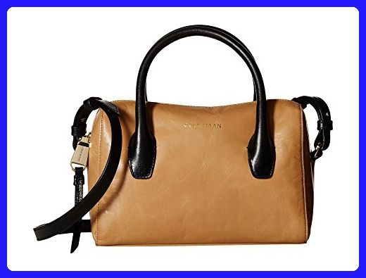 9c34931640 Cole Haan Women s Isabella II Mini Satchel Tan Black Handbag - Satchels  ( Amazon Partner-Link)