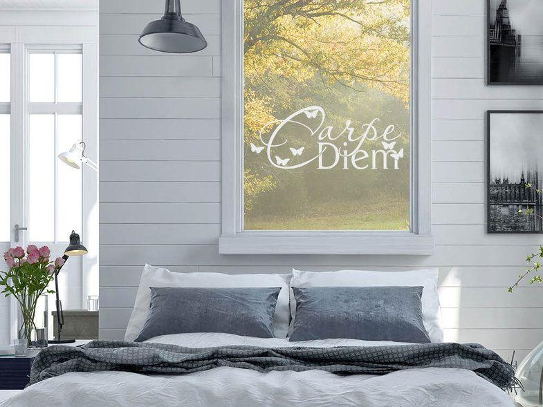 New Glastattoo Carpe Diem f r ein Fenster oder Spiegel