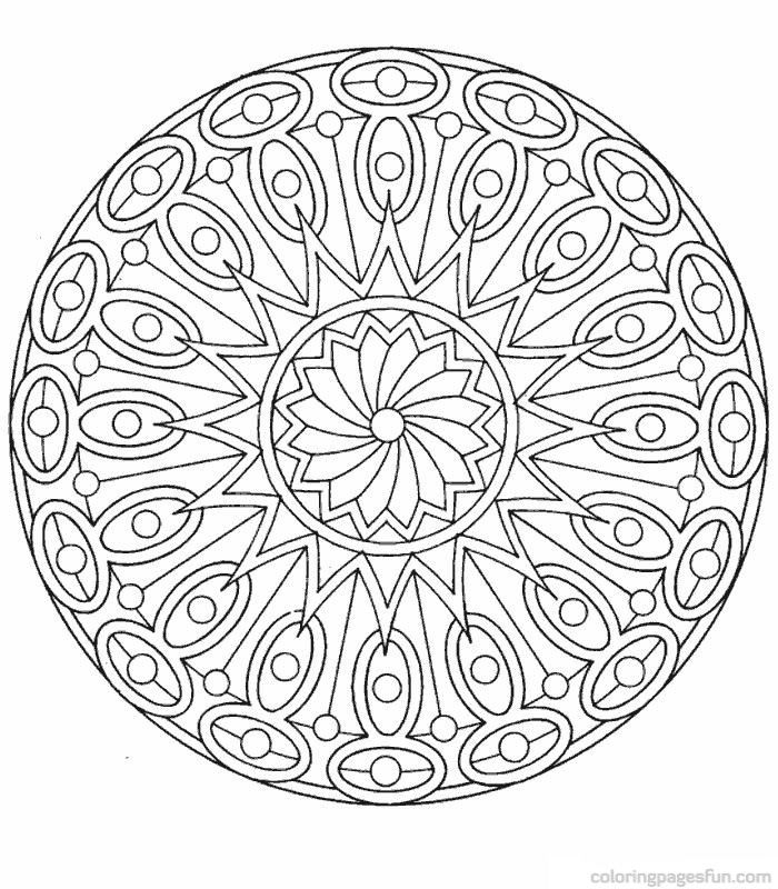 Free Printable Mandala Coloring Pages admin may 29 2013 mandala