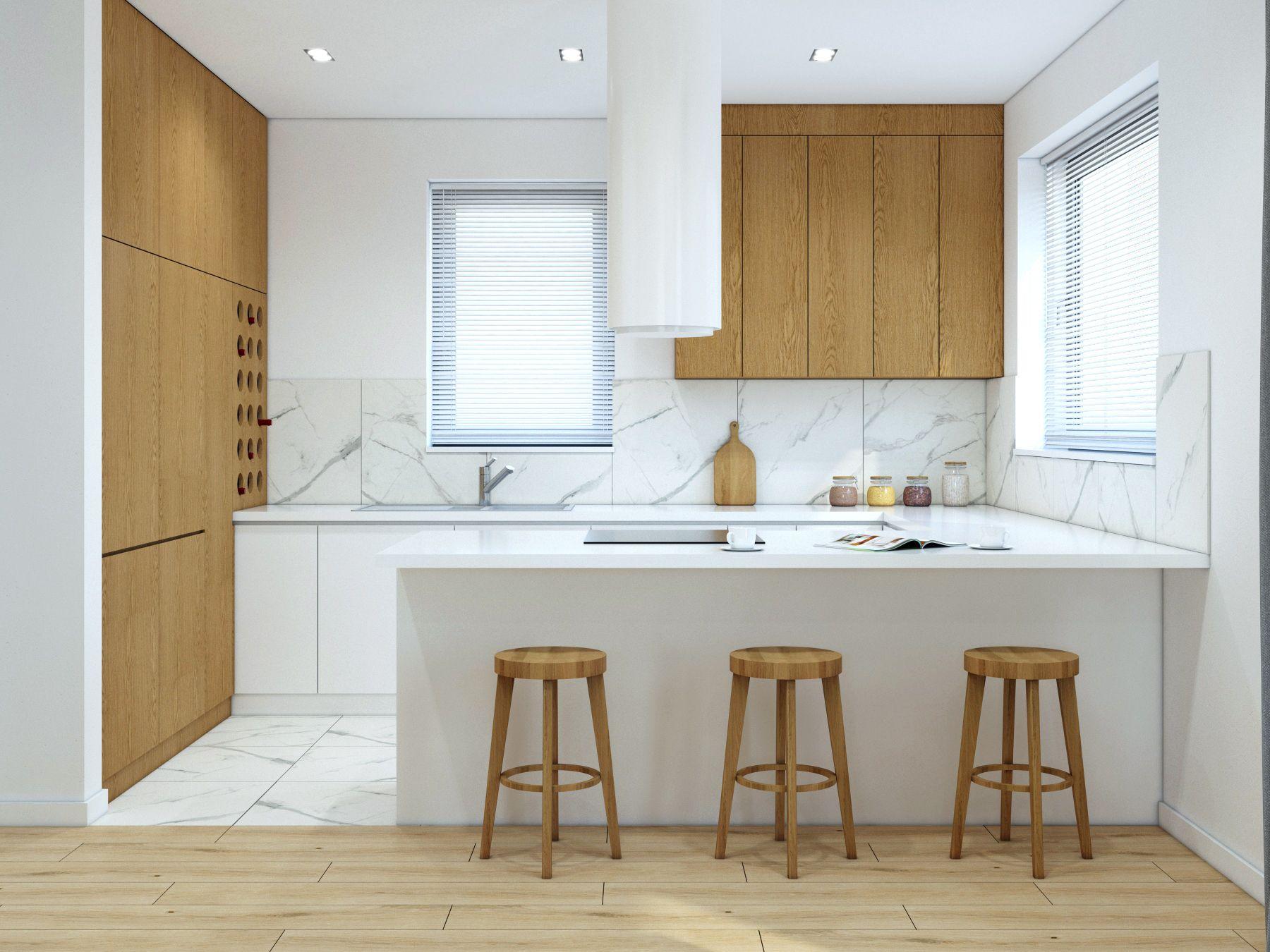 Kuchnia Otwarta Na Salon W Domu Jednorodzinnym Pod Krakowem Www Maczarchitektura Pl Kitchen Design Home Kitchen