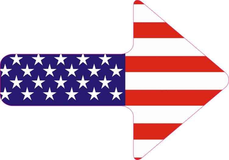"8/"" Printed Vinyl Decal Sticker//s 3/"" PEACE SIGN SYMBOL *US FLAG*"