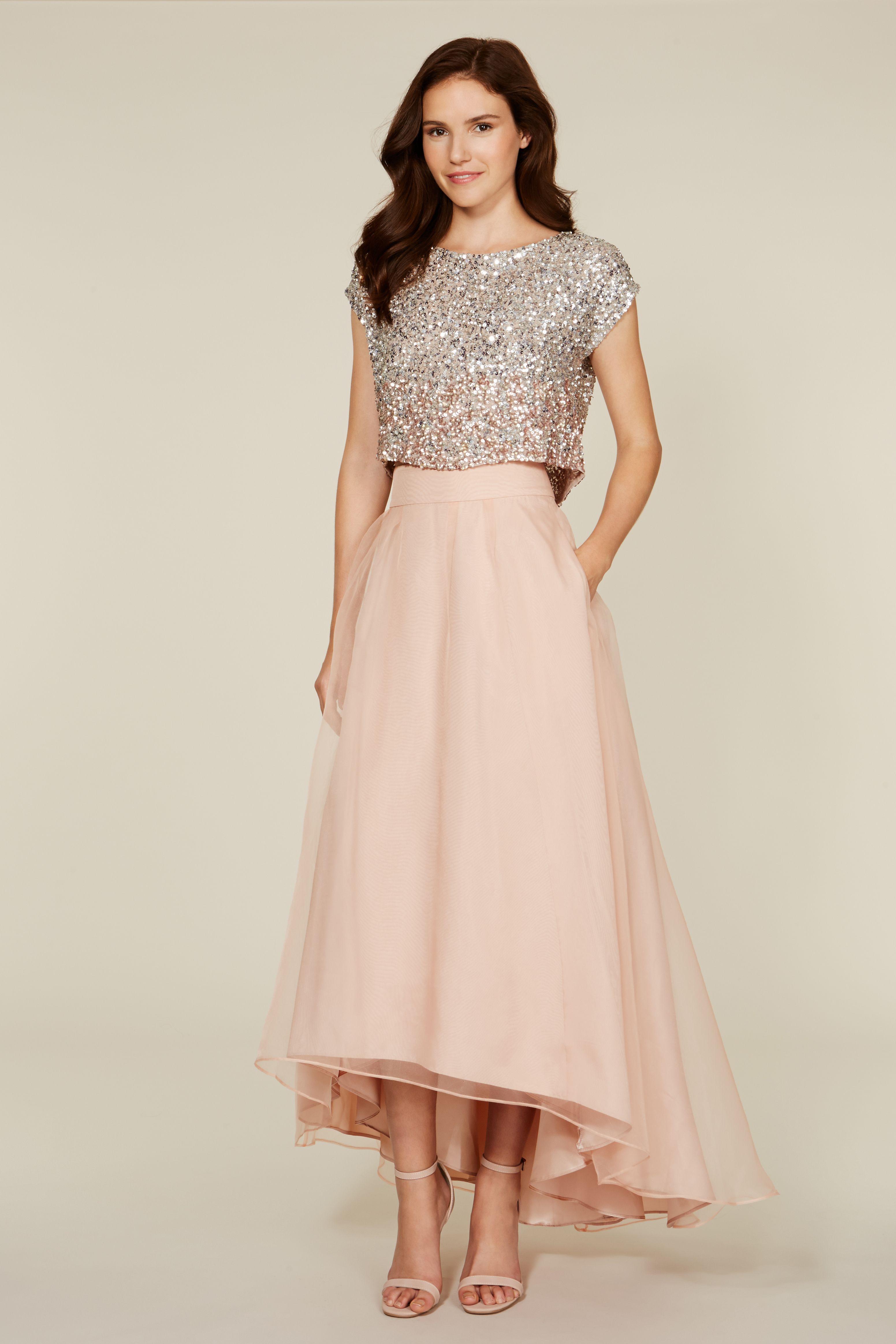 Trend alert bridesmaid separates dresses pinterest dresses