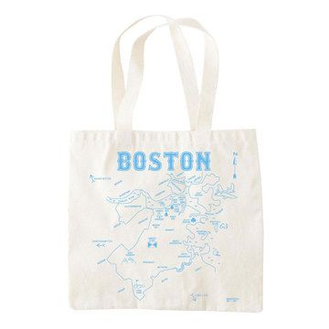Maptote Boston Grocery Tote