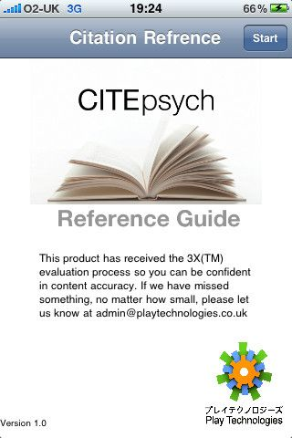 cite psych app is a practical and easy to use resource that