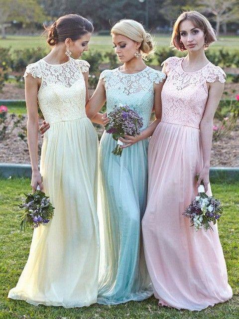 d9590224a Long Bridesmaid Dresses