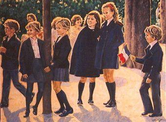 French school uniforms | Vive La France | French school