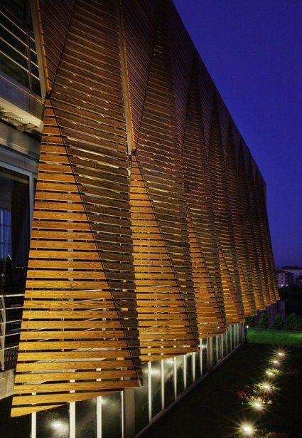 Resultado de imagen para parasoles verticales metalicos for Arquitectura parametrica pdf