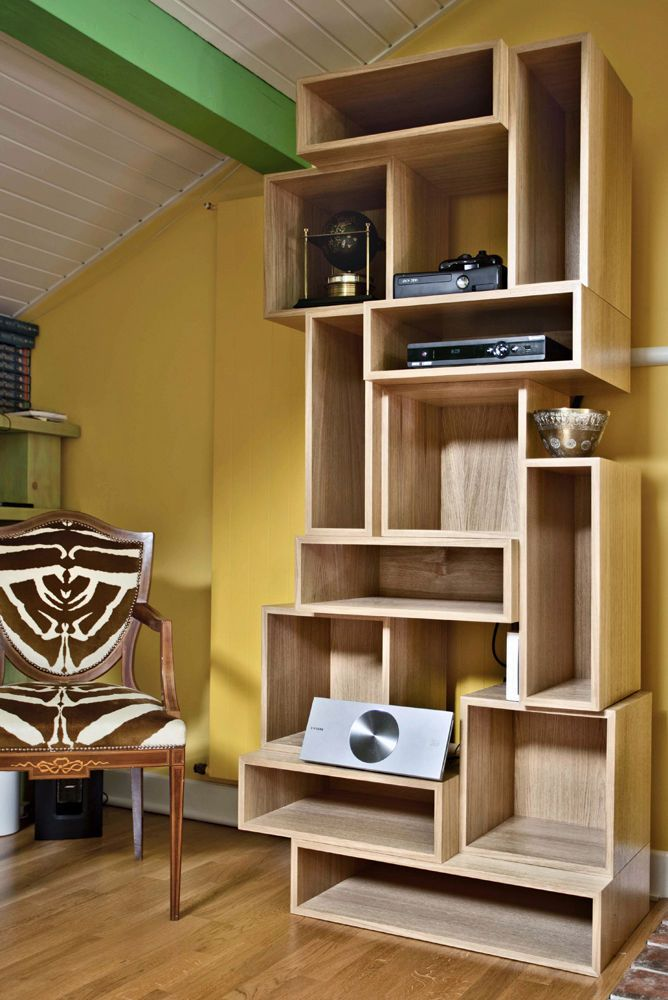 Mueble para zapatos moderno / de madera - SHOE-SHINE - Ateliers Phi - muebles en madera modernos