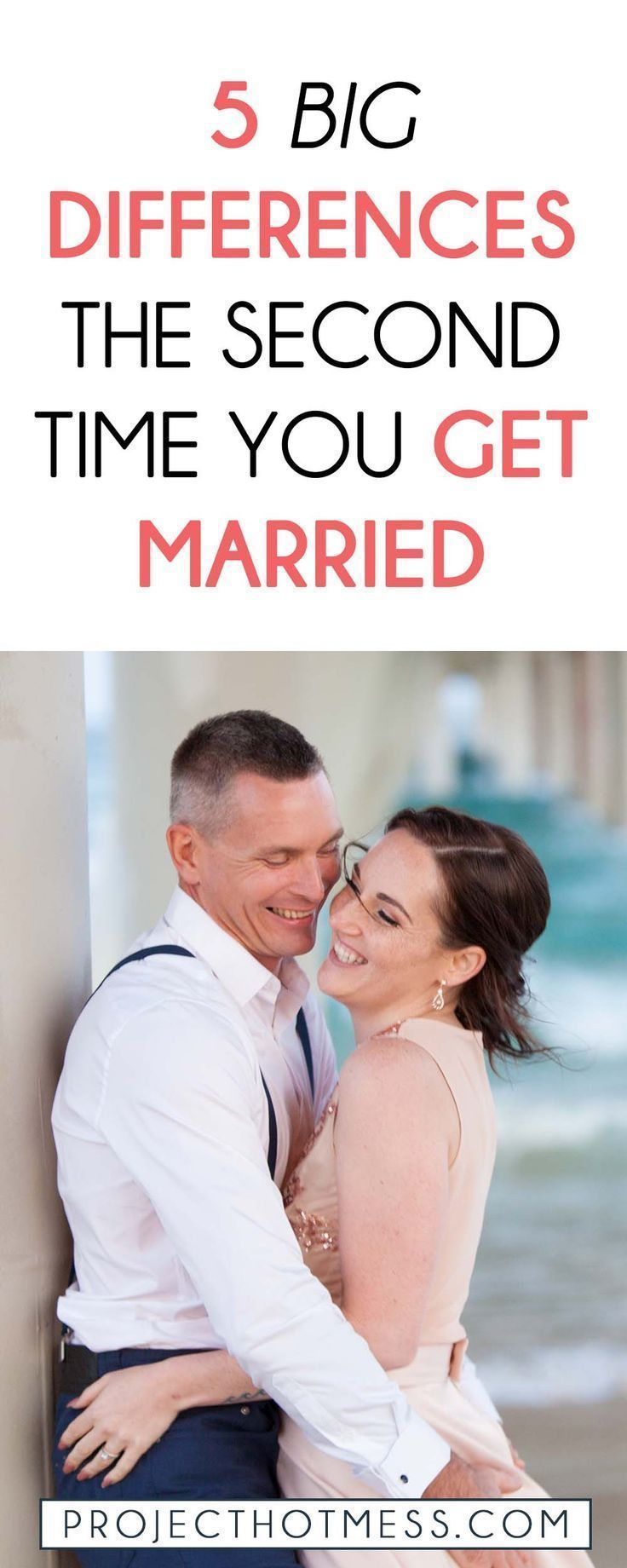 5 Big Differences The Second Time You Get Married