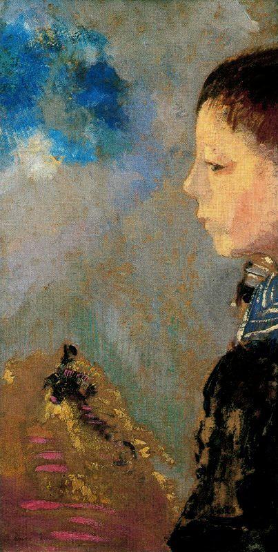 odilon redon | Bertrand-Jean Redon , better known as Odilon Redon ...