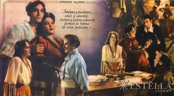 Los de la Escoba: Antoñita Colomé ( Filmografia ) Actríz y Cantante )