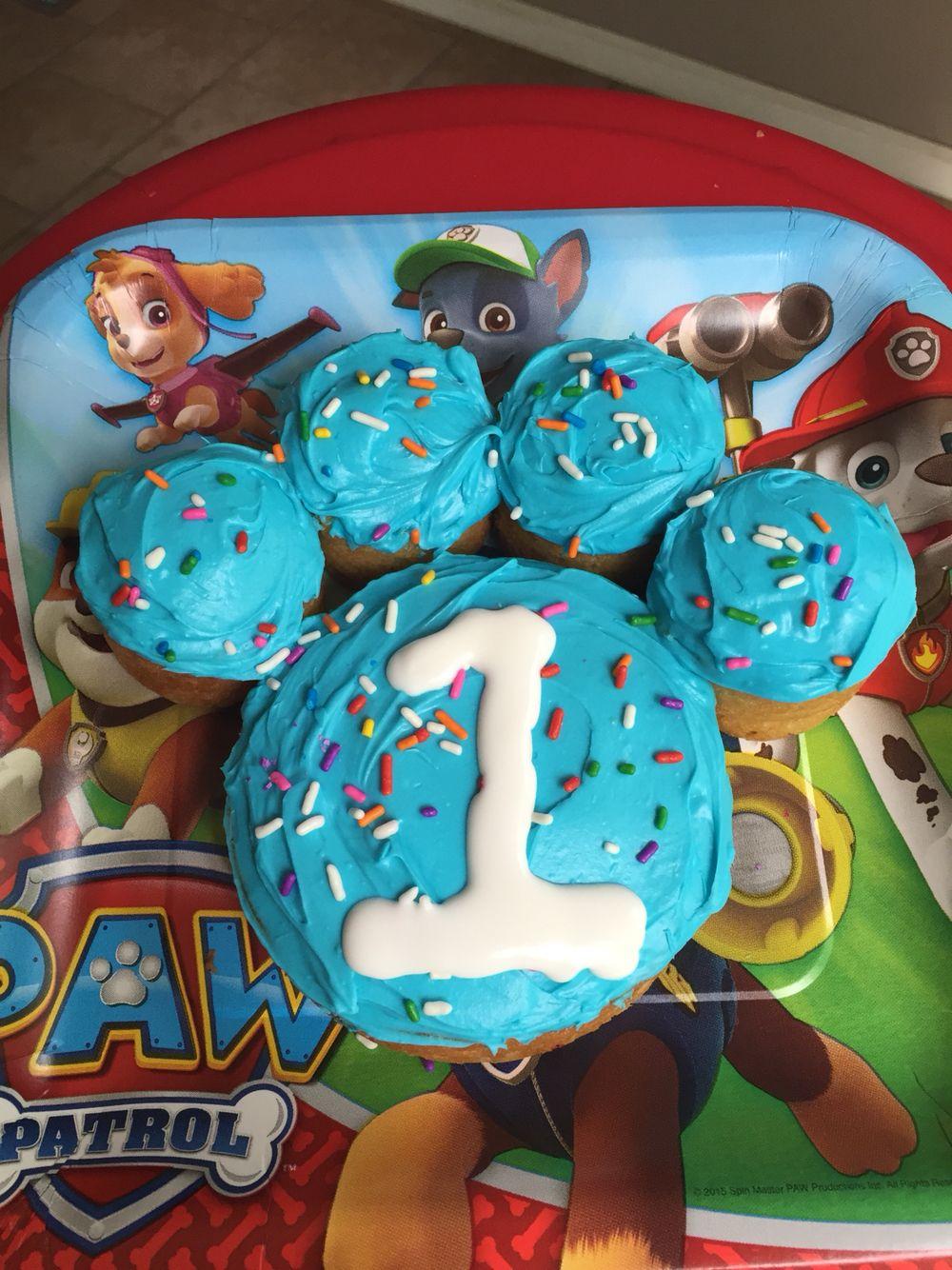 1st Birthday Paw Patrol Smash Cake For Baby Boy Creative