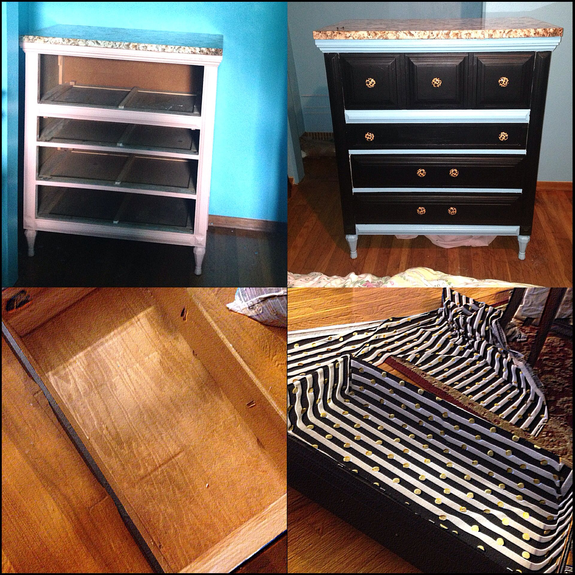 Brought my dresser back to LIFE!!