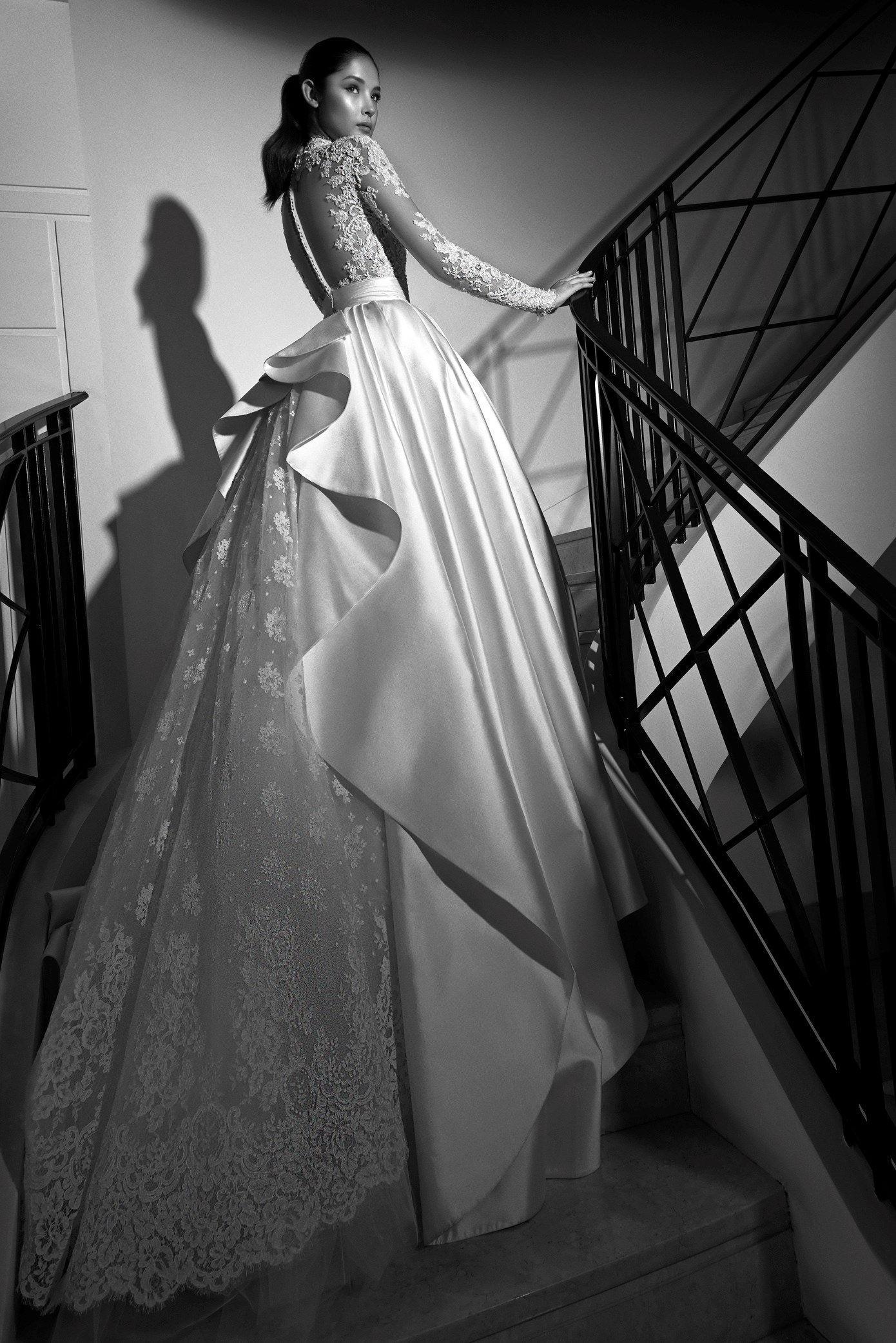 This Is It Zuhair Murad Bridal Fall 17 Back View Thick Silky