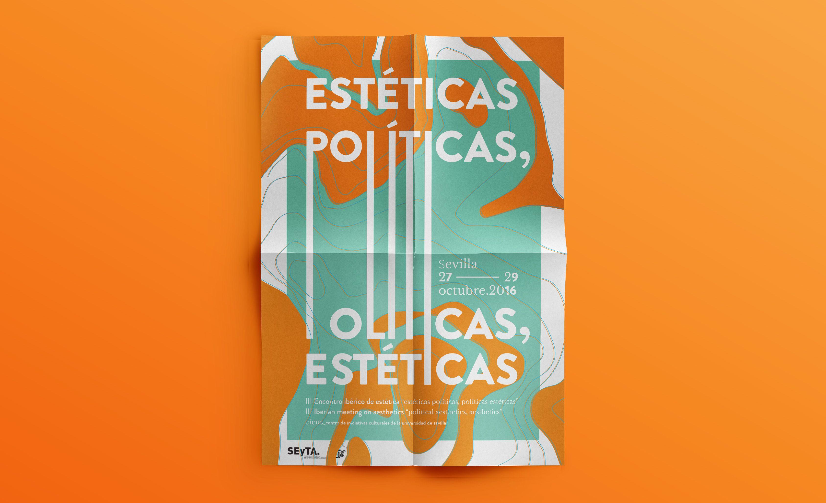 """Projeto de identidade visual fictício para evento """"III Encuentro Ibérico de Estética"""" realizado na cidade de Sevilha, Espanha. O processo foi acompanhado por Fernando Infante del Rosal, designer do estúdio El Golpe. Cultura del Entorno, também localizado …"""