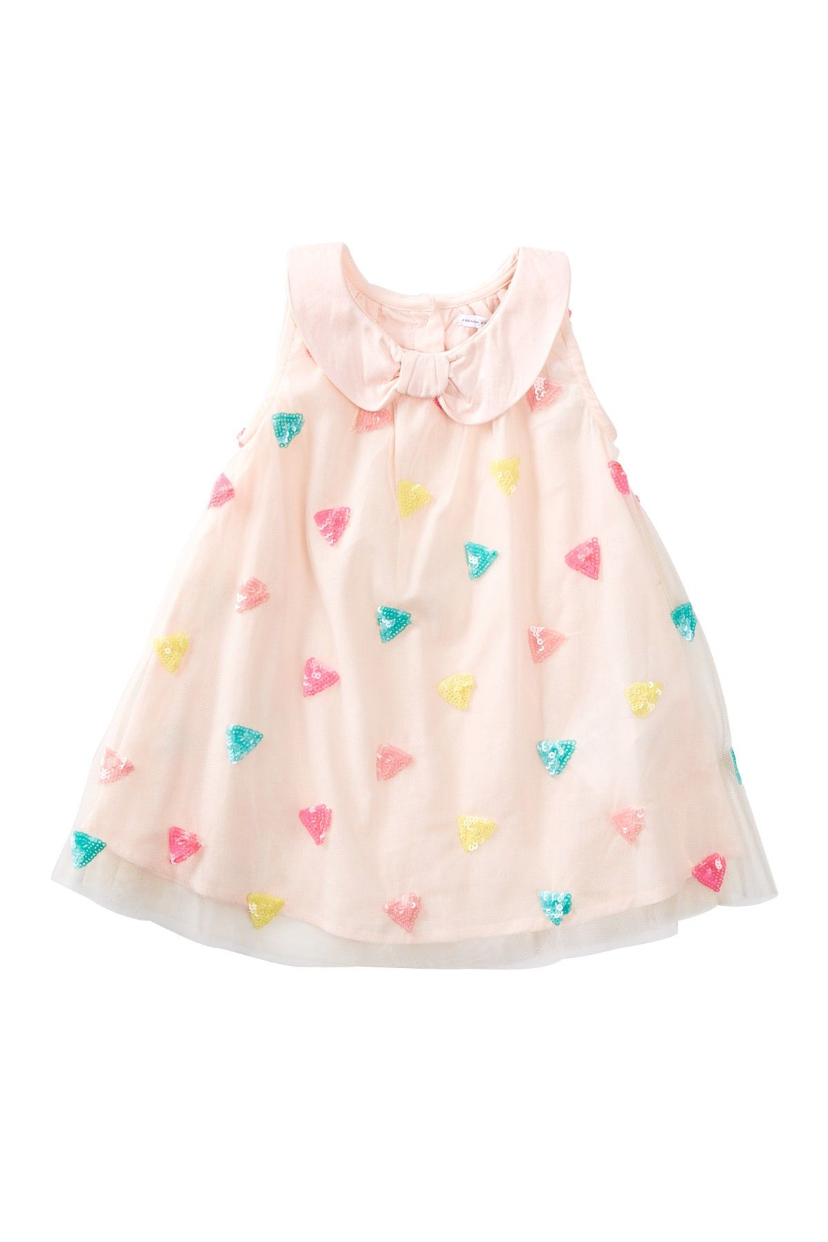 Sequin Triangle Dress Baby Girls