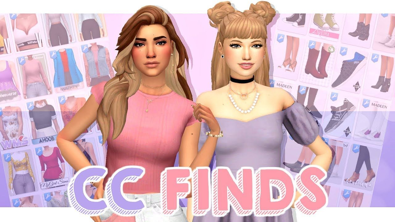 BEST CC FINDS | Sims 4 Custom Content Haul (Maxis Match