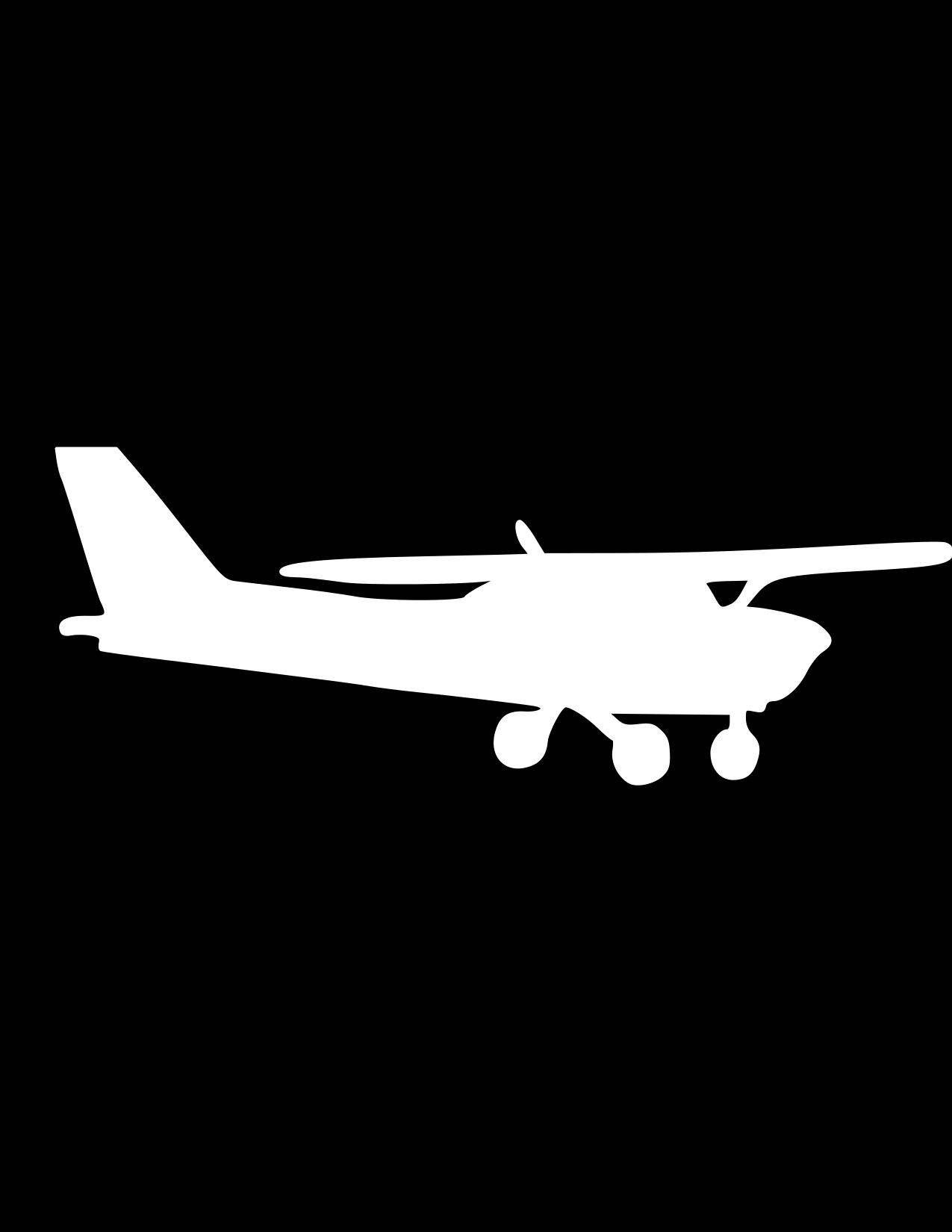 Aviator Pilot Decal Cessna Car Decal Aviation Travel Airplane