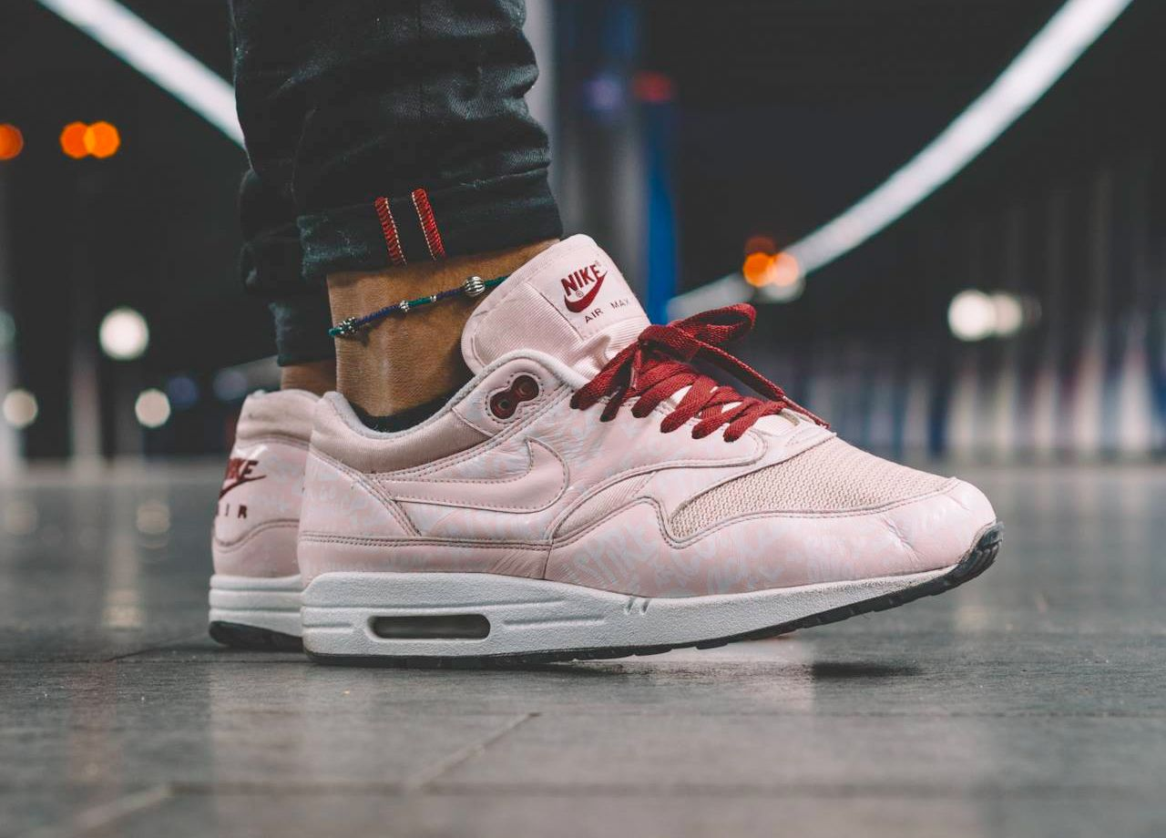 air max 1 rosa powerwall sneakerdiscount