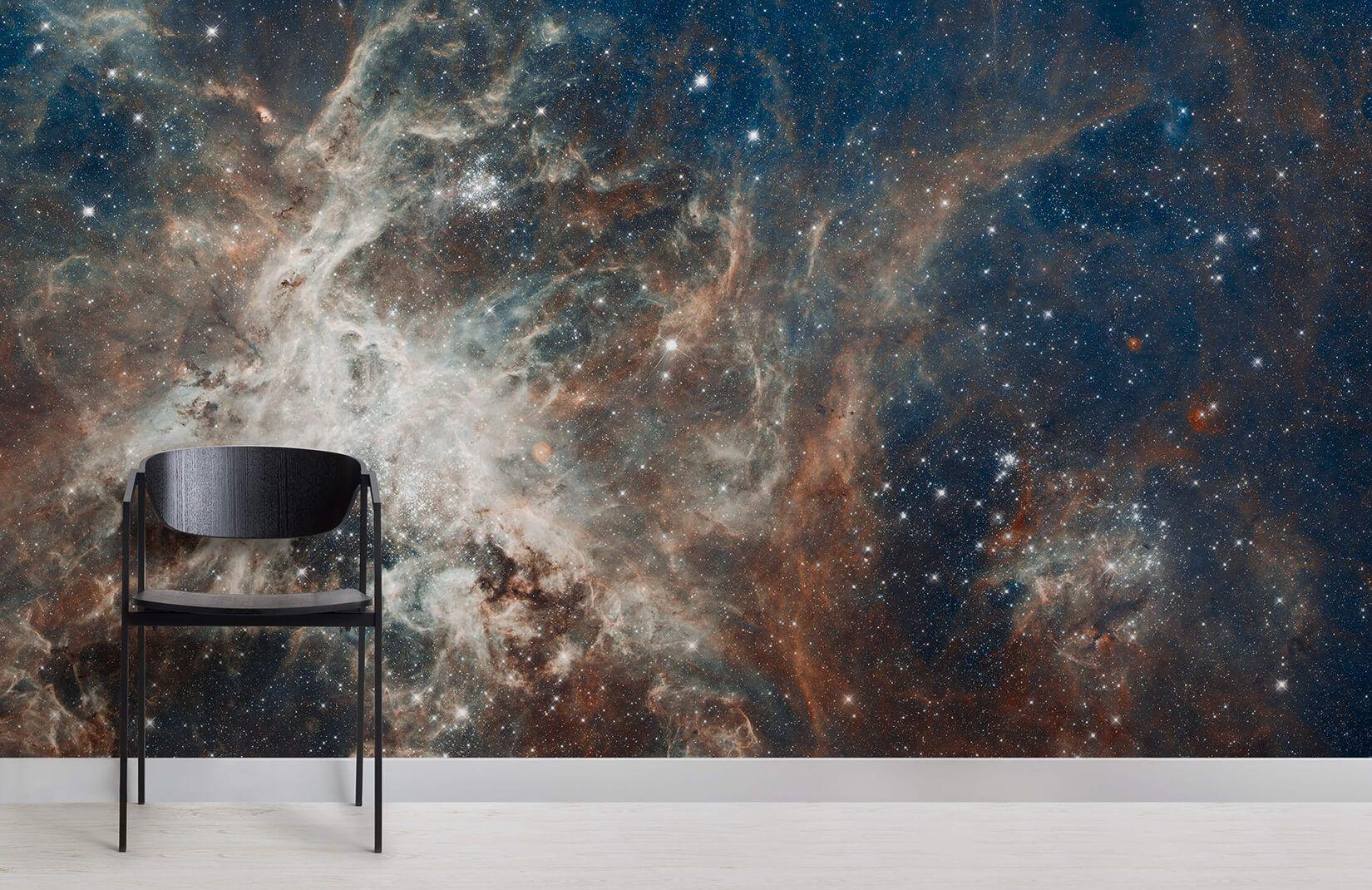 Tarantula Nebula Wallpaper Mural Murals Wallpaper In 2021 Nebula Wallpaper Outer Space Wallpaper Mural Wallpaper