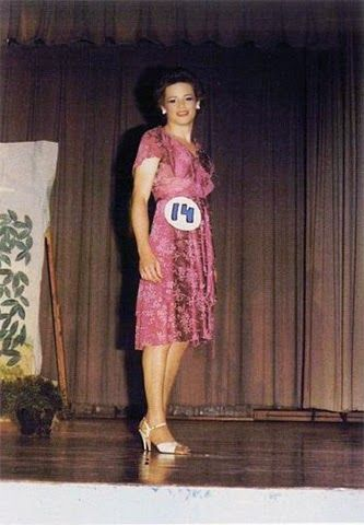 A Pretty Contestant In A 1984 Womanless Beauty Pageant