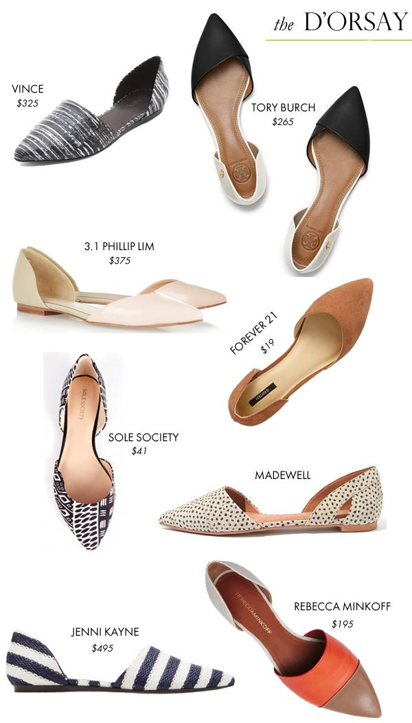 As much as I love a great pair of heels, most of my days are spent wearing  flats.