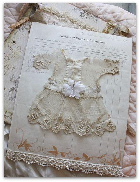 Vintage book page ~ Karla Nathan