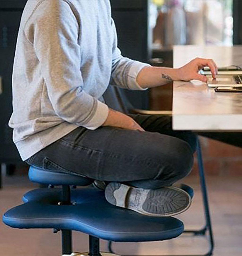 Chair for sitting crosslegged sitting cross legged