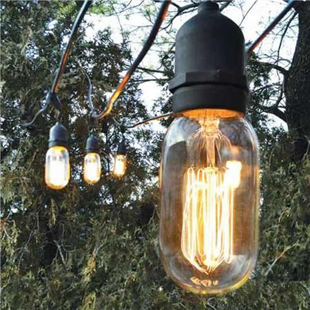 Decorative Outdoor String Lights Amazing Decorative Outdoor String Lights Wonder If The Bulb Type Makes It A