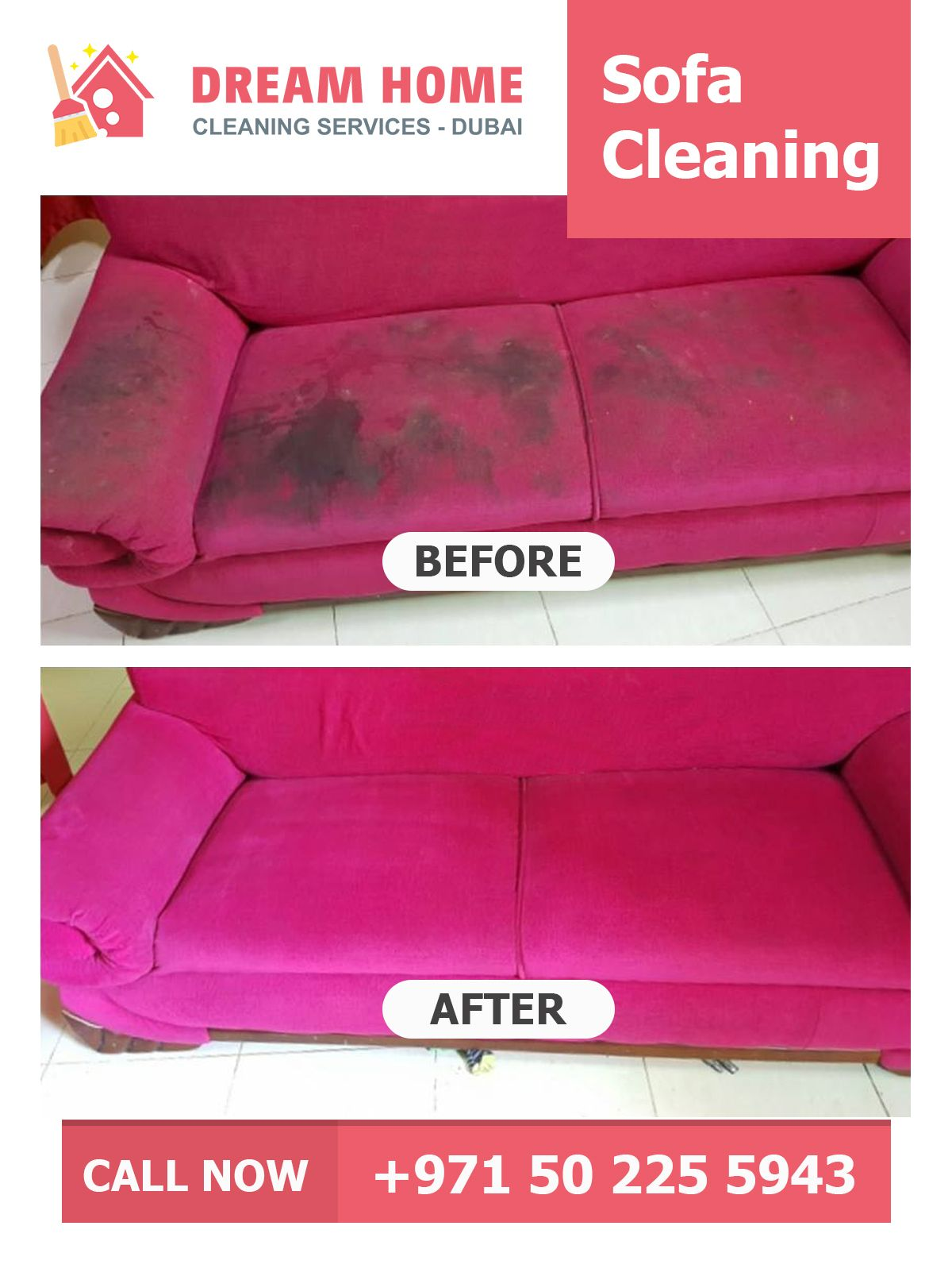 Sofa Cleaning in Dubai Dream Home Cleaning Service provides ...