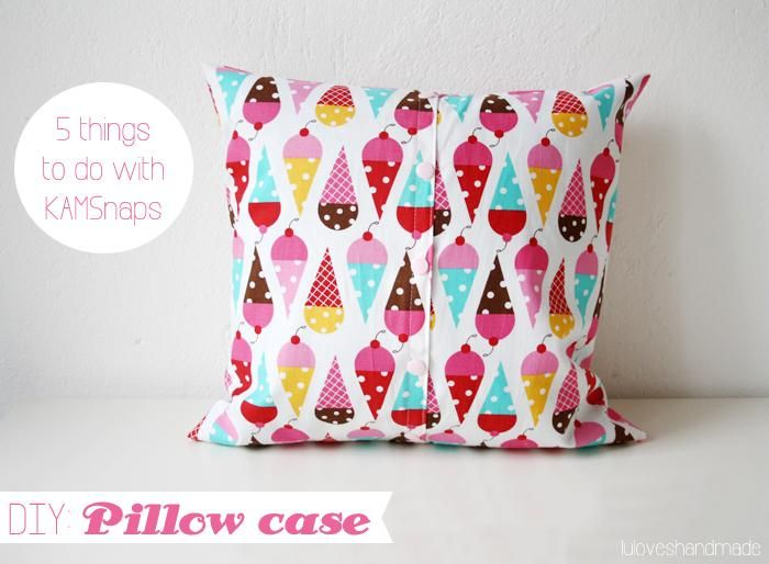 How To Make Cute Pillow Cases : DIY Pillowcase.... Cute for kids! Pillows and such Pinterest Kid, Home and Pillows