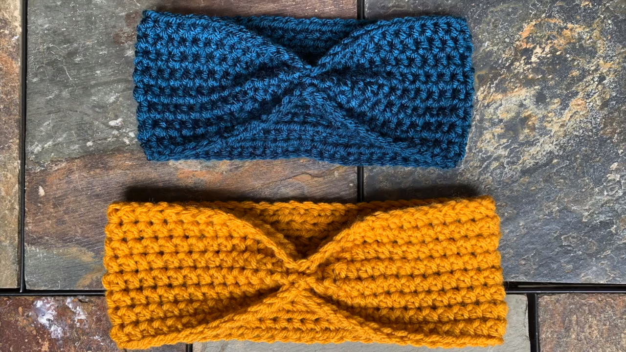 Simple Beginner Crochet Ear Warmer Pattern