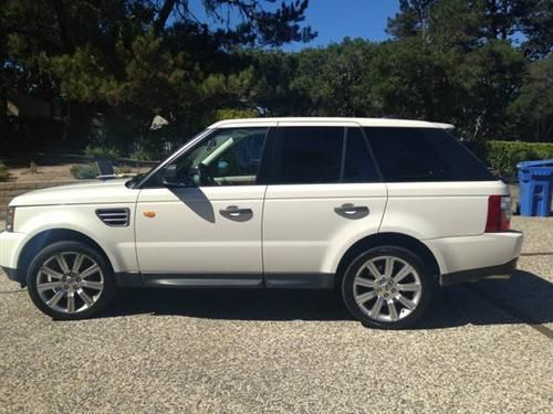 2008 Range Rover Sport For Sale 2008 Range Rover Sport Supercharged For Sale It Is White With Beige 2008 Range Rover Sport 2008 Range Rover Range Rover Sport