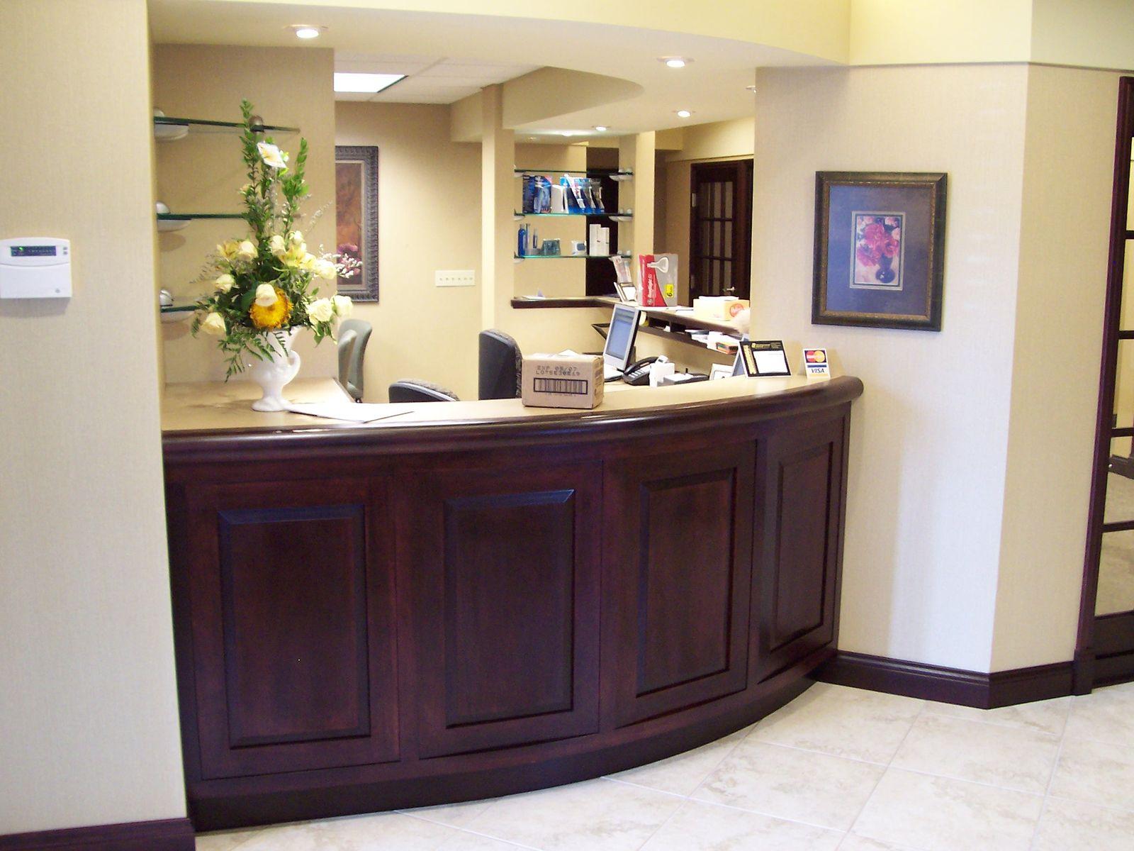 Reception area office ideas musique