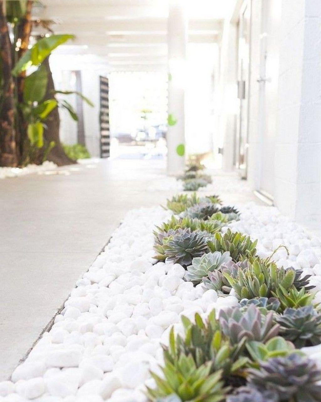 30 Beautiful Modern Rock Garden Ideas For Backyard Landscaping