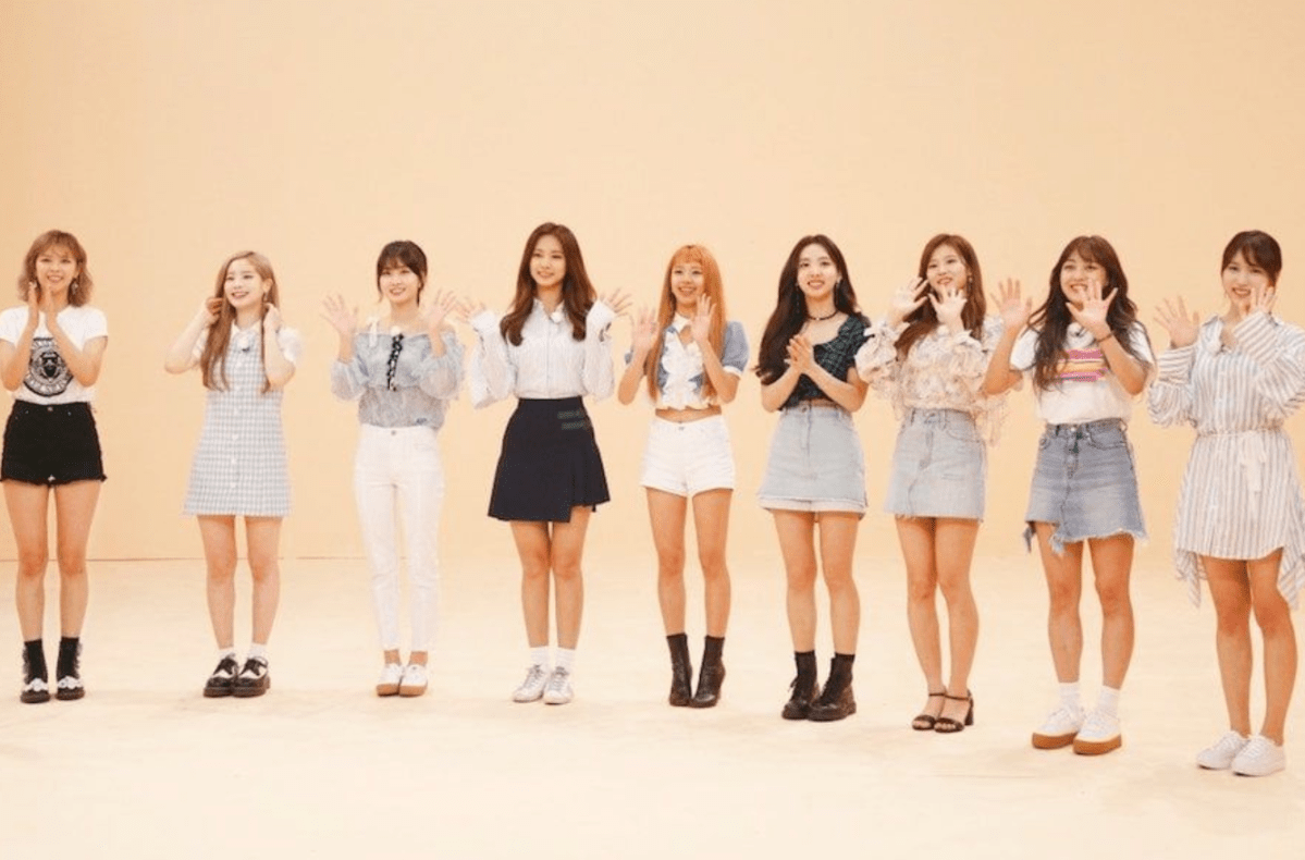 Twice Participara Novamente Do Idol Room Twice Figurino Shy Shy Shy