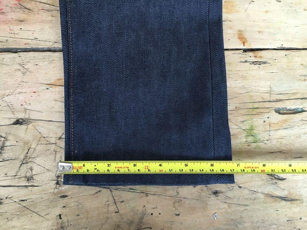 Men's jeans how to measure the hem Mens jeans, Men