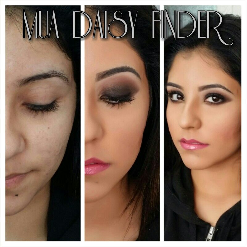 #professional #makeup #Dulce #daisyfinder #glamorous #flawless before and after