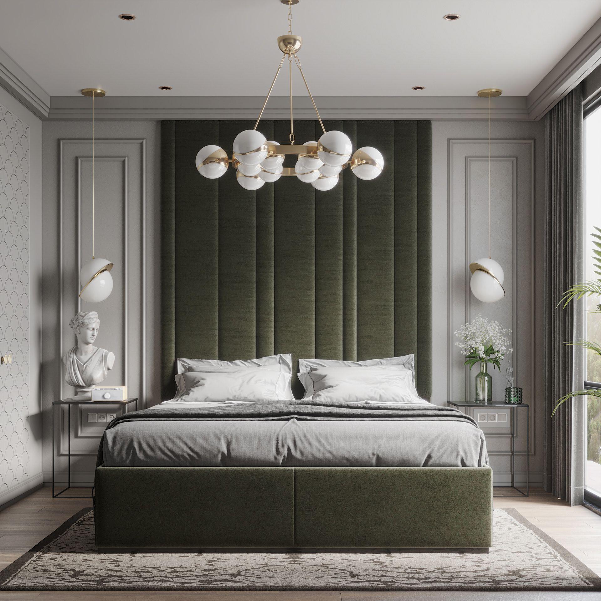 Simple Neoclassic Bedroom On Behance Modern Luxury Bedroom Modern Bedroom Interior Master Bedroom Interior Simple classic bedroom design
