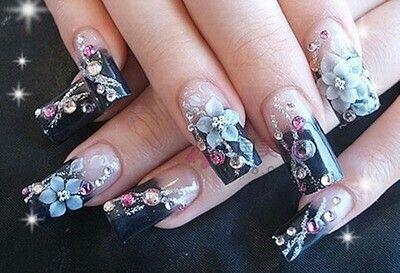 diamond Nail Designs | Nail Trends: Diamond Nails
