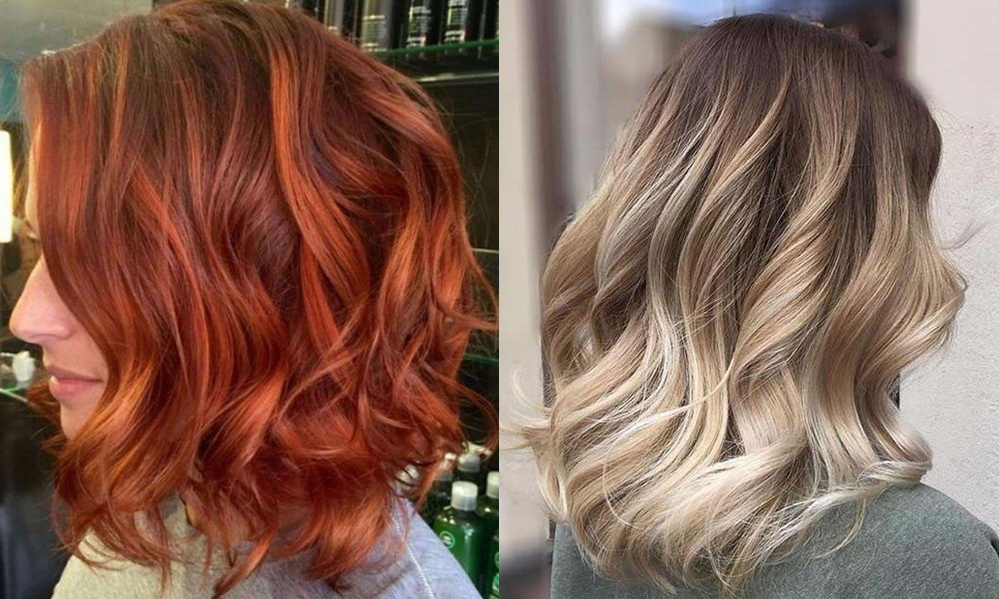 Haarfarben Für 2018 2019 Frauen Haar Modelle