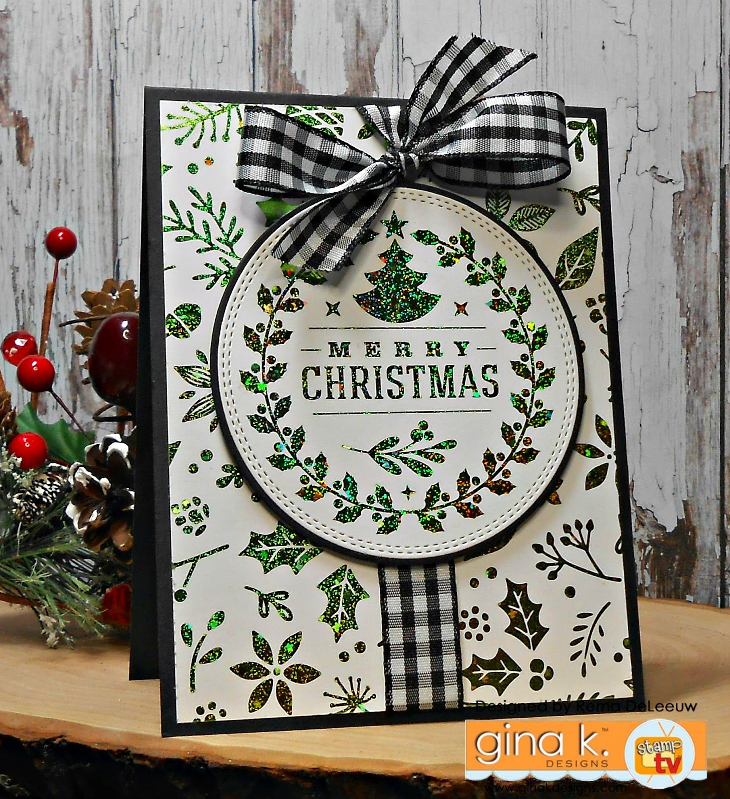 the cast and crew for gina k designs welcomes you to another fabulous blog hop celebrating the newly released gkdtherm o web - A Country Christmas Cast