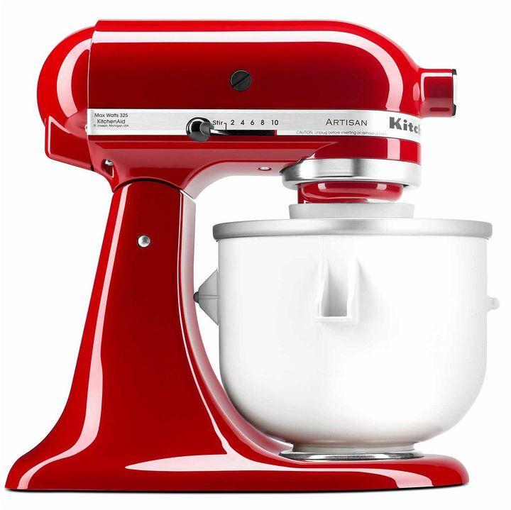 Kitchen aid kitchenaid ice cream maker mixer attachment kica0