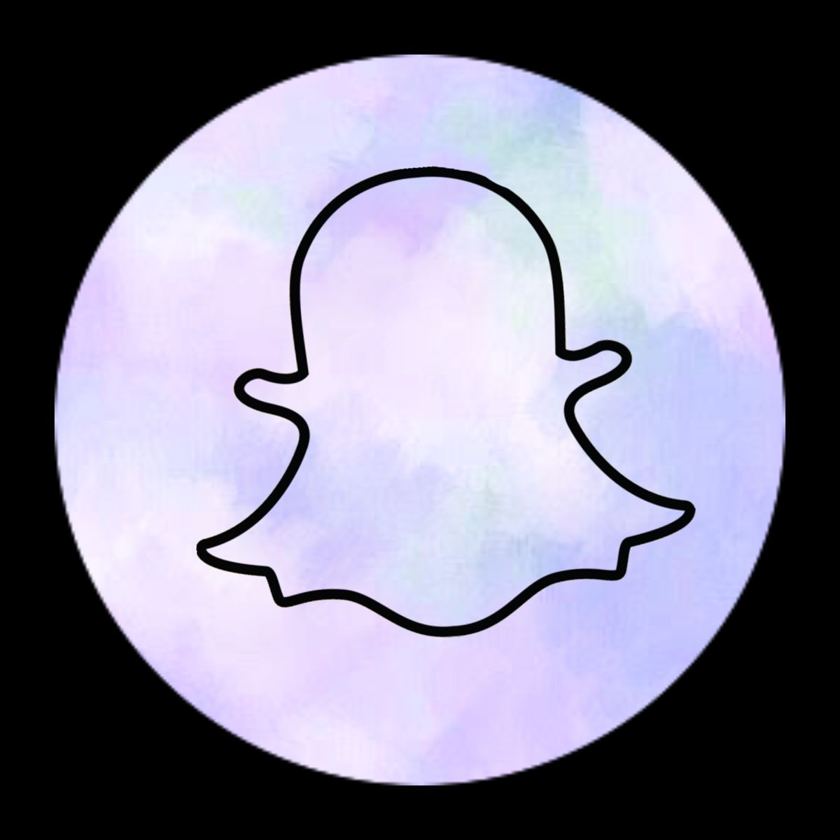 Snapchat Icon In 2020 Snapchat Icon Iphone Wallpaper Tumblr Aesthetic Iphone Icon