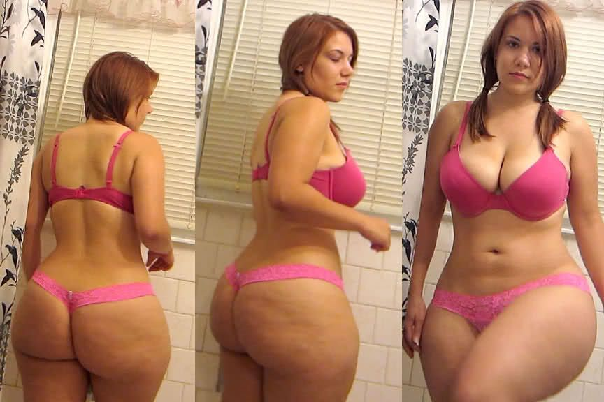Chubby redhead big ass