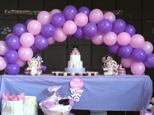 Baby Showers Balloons Ideas | Balloon Decoration For Baby Shower