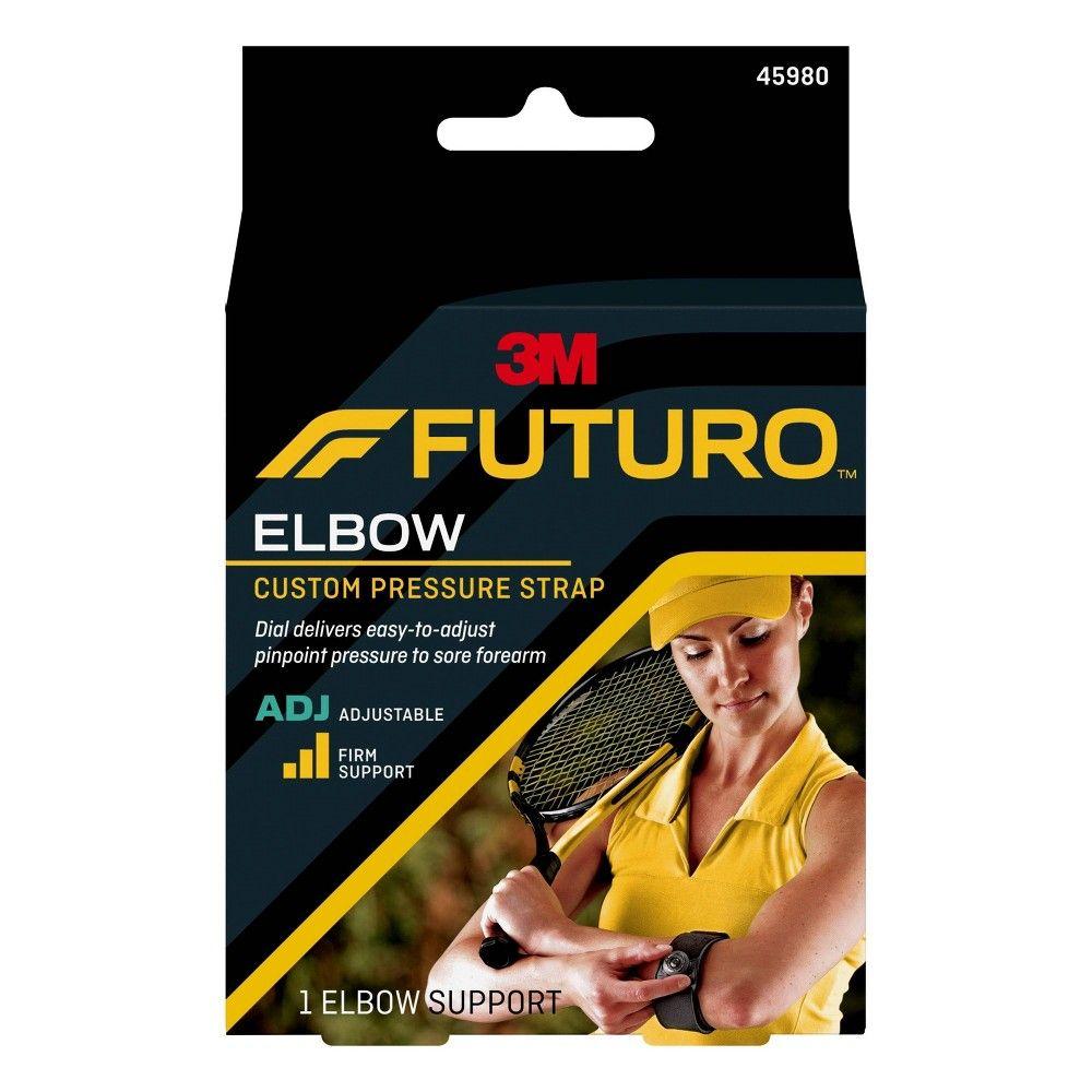 Futuro Custom Pressure Elbow Strap Adjustable Size 1ct Pressure