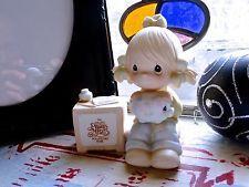 1984 precious moments e 0404 figurine-bisque figurine en porcelaine