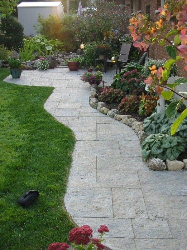 Den Garten Mit Steinen Gestalten Sch Ne Gartengestaltungsideen - pflegeleichter garten modern
